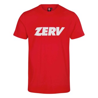 ZERV Promo Junior T-shirt Red